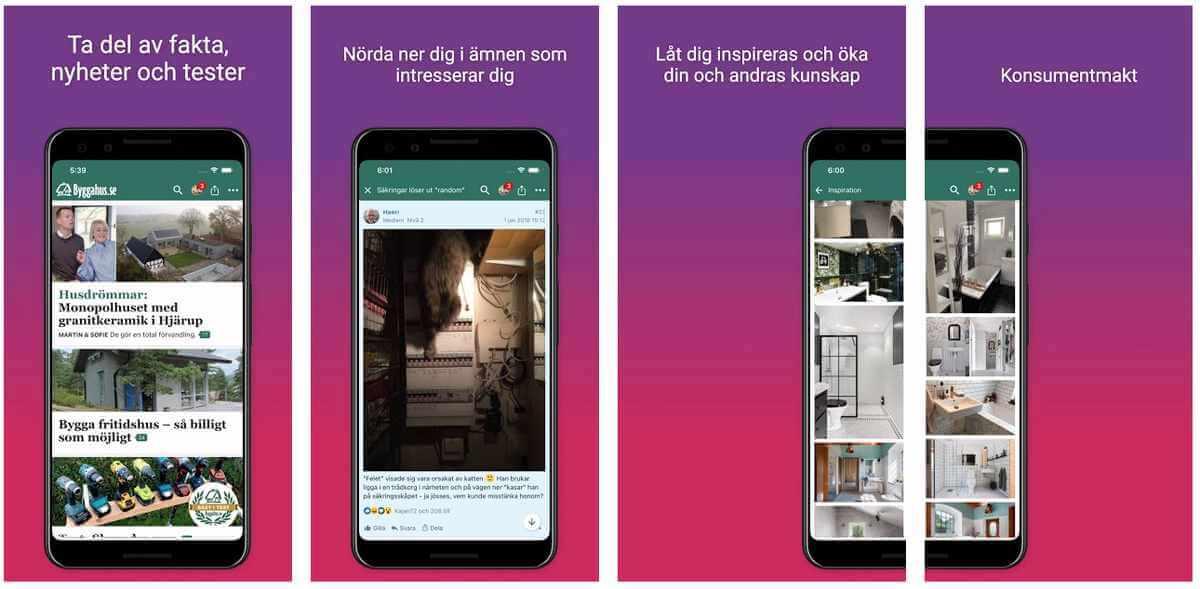 Bygga hus app