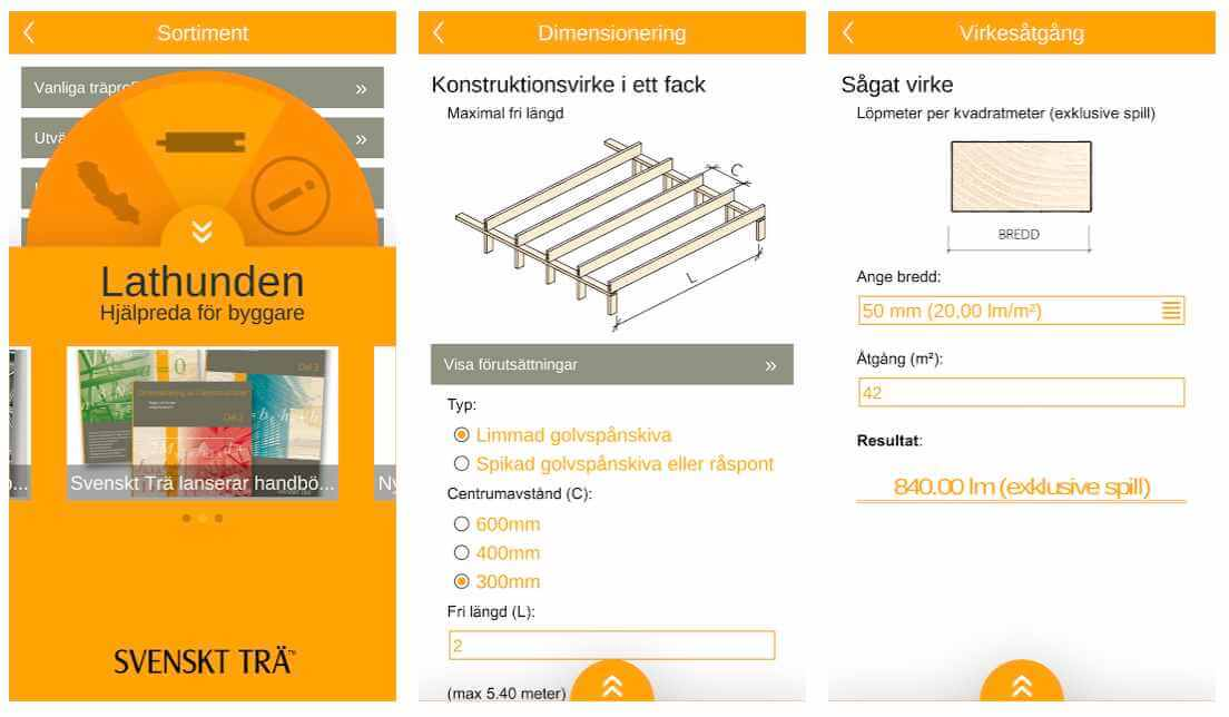 Lathunden - en bygga hus app