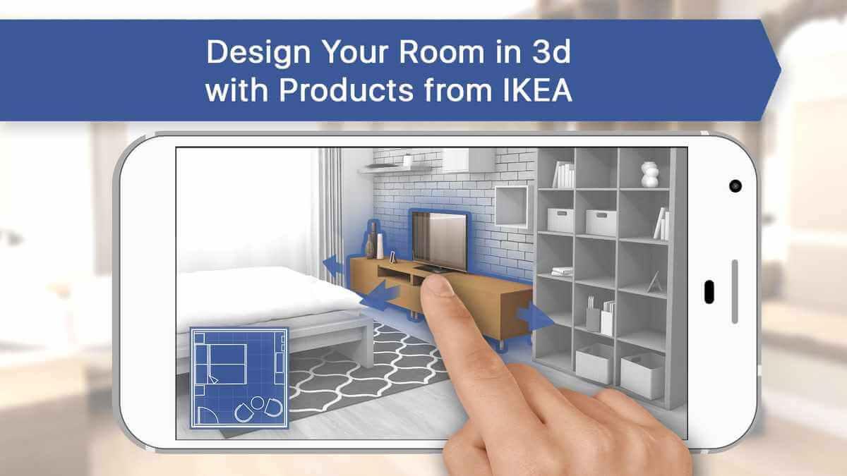 Room planner app för inredning av bostad
